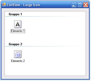 Visual Basic Listview